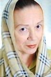 Una mujer mayor fotografía de archivo