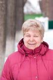 Una mujer mayor Fotografía de archivo libre de regalías