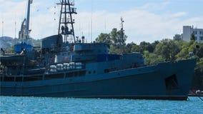 Una nave moderna del rescate Imagen de archivo libre de regalías