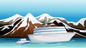 Una nave persa royalty illustrazione gratis
