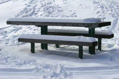una neve da 5 pollici Fotografia Stock Libera da Diritti