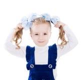 Una niña Imagen de archivo libre de regalías
