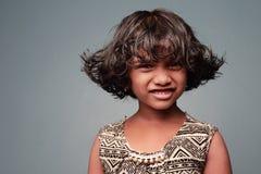 Una niña Imagenes de archivo