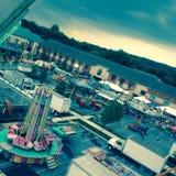 Una noche en el carnaval Foto de archivo