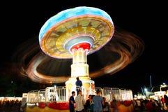 Una noche en la feria Imágenes de archivo libres de regalías