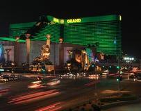 Una notte ha sparato dell'hotel e del casinò di MGM Immagine Stock Libera da Diritti