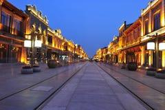 Una notte a Pechino Immagini Stock Libere da Diritti