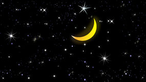 Una notte veduta Fotografia Stock
