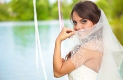 Una novia hermosa Imágenes de archivo libres de regalías