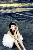 Una novia hermosa Foto de archivo