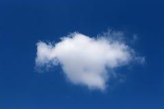 Una nube Fotografia Stock Libera da Diritti