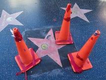 Una nueva estrella de Hollywood Imagen de archivo