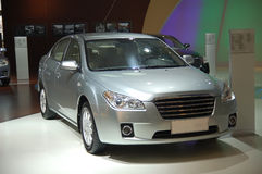 Una nuova automobile Immagine Stock
