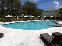Una nuova località di soggiorno su Bequia. Fotografia Stock Libera da Diritti