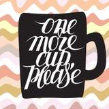 Una nuova tazza per favore Fotografia Stock