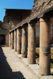 Una ojeada de Pompeya Imagenes de archivo