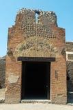 Una ojeada de Pompeya Fotografía de archivo