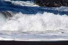 Una onda de fractura Imagenes de archivo