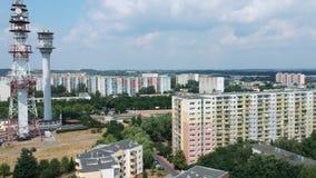 """Una opinión aérea sobre área residencial del """"de PoznaÅ"""