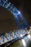 Puente del hierro Fotografía de archivo libre de regalías