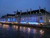 Una opinión del hotel del puente de Londres Fotografía de archivo