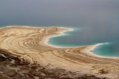 Una opinión desde arriba sobre el mar muerto, Israel fotografía de archivo libre de regalías