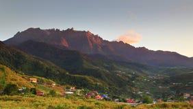 El Monte Kinabalu Fotografía de archivo libre de regalías