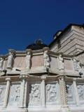 Una opinión San Marino Fountain Imagen de archivo