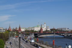 Una opinión sobre el Kremlin Fotografía de archivo