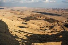 Desierto en sombra Imágenes de archivo libres de regalías