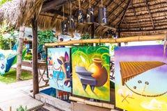 Una opinión típica sobre el lago Nicaragua Apoyo fotos de archivo libres de regalías