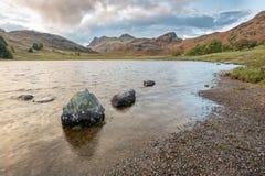 Una opini?n del paisaje de la monta?a en Cumbria foto de archivo libre de regalías