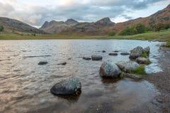 Una opini?n del paisaje de la monta?a en Cumbria fotos de archivo libres de regalías