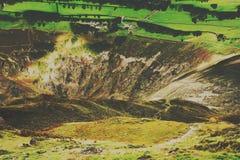 Una opini?n del paisaje de la monta?a en Cumbria fotografía de archivo