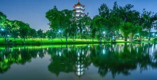 Una pagoda di 2016 giapponesi Fotografia Stock