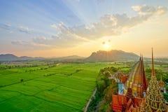 Una pagoda hermosa en Tailandia Imagen de archivo libre de regalías