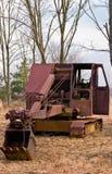 Pala pesante all'antica di estrazione mineraria dell'attrezzatura Immagine Stock
