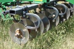 Una paleta del disco funcionando en una granja en Idaho Fotos de archivo