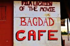 Una parada en el café de Bagdad, en el camino histórico 66 Imagen de archivo