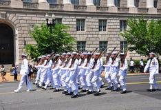 Una parata di 2011 Giorno dei Caduti. Fotografie Stock Libere da Diritti