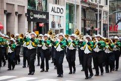 Una parata di 2014 feste del lavoro a New York Fotografia Stock