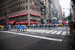 Una parata di 2014 feste del lavoro a New York Immagine Stock Libera da Diritti