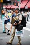 Una parata di 2014 feste del lavoro a New York Fotografia Stock Libera da Diritti