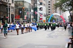 Una parata di 2014 feste del lavoro a New York Fotografie Stock Libere da Diritti