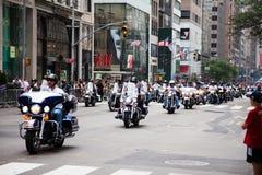 Una parata di 2014 feste del lavoro a New York Immagini Stock