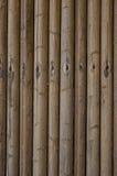 Una pared de bambú. Imagen de archivo libre de regalías