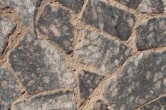 Una pared de los azulejos del granito Imagen de archivo libre de regalías
