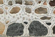 Una pared de piedra imagen de archivo libre de regalías