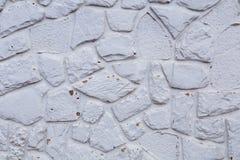 Una pared de piedra blanca Fotos de archivo libres de regalías