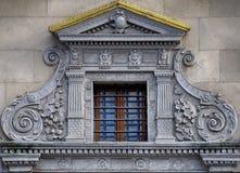 Una pared de ventanas Fotografía de archivo libre de regalías